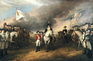 Surrender of Lord Cornwallis, by John Trumbull  (Wikipedia)