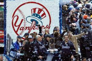 Yankees Ticker Tape