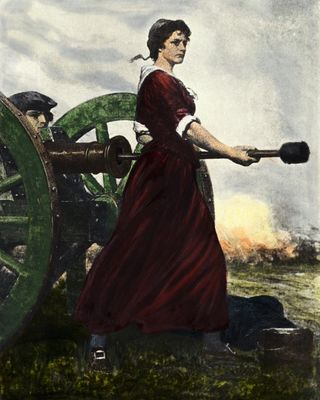 an introduction to the life of molly pitcher Molly pitcher (1744-1832) was a account of her life washington 2¢ stamps bearing the name 'molly pitcher' molly was finally pictured on an imprinted stamp.