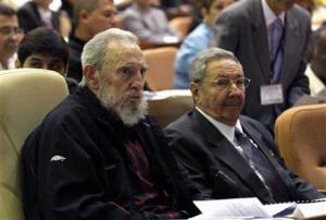 Fidel and Raul Castro (Photo courtesy of AP)