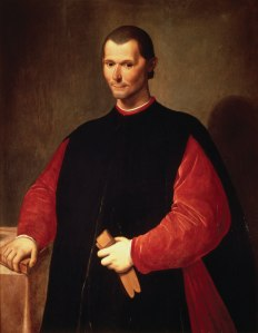 Niccolo Machiavelli by Santi di Tito, courtesy of Wikipedia
